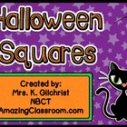Halloween Squares Smart Notebook Game Template