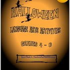 Halloween Student Worksheets Language Arts