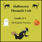 Halloween Thematic Unit for Grades 3-4-5
