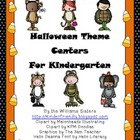 Halloween Theme Centers for Kindergarten