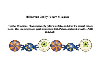 Halloween Theme Pattern Mistakes
