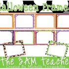 Halloween-Themed Frames