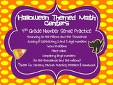Halloween Themed Number Sense Math Practice