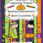 October & Halloween Themed Reading Comprehension Book Craf
