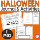 Halloween Think Book