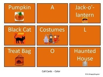 Halloween Treat BINGO