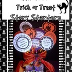 Halloween: Trick or Treat Story Starters for Writing {Blac