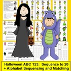 Halloween | Alphabet and Counting Trick or Treat Activitie