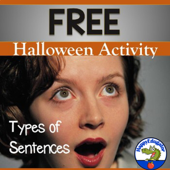Halloween Types of Sentences Worksheet