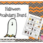 Halloween Vocabulary Board