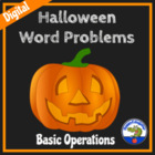Halloween Word Problems - Fun Practice
