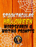Halloween Wordsearch Activity & Writing Prompts