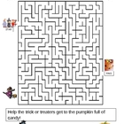 Halloween Wordsearch and Maze fun Halloween Fall activity