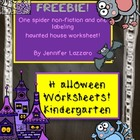 Halloween Worksheets Free
