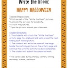 Halloween - Write the Room Activity