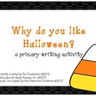 "Halloween Writing ""Craftivity"""
