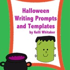 Halloween Writing Prompts and Templates