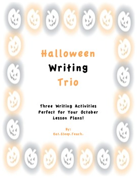 Halloween Writing Trio