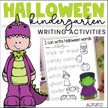 Halloween Writing for Kinders