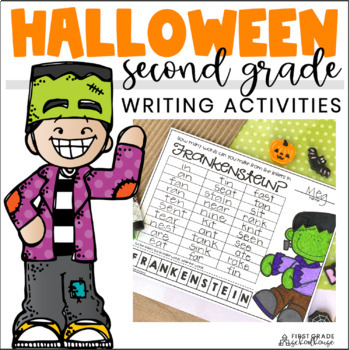 Halloween Writing for Second Graders