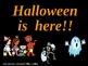 Halloween is Here Shared Reading PowerPoint