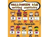 Halloween kids craftivity