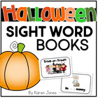 Halloween themed Sight Word Books -- Set of 5