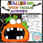 Halloween...'Spook'tacular Activities...Save My Ink