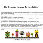 Halloweentown Articulation Complete Set