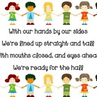 Hallway Chant Classroom Management