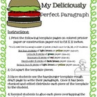 Hamburger Paragraph Craftivity Writing  Template