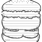 Hamburger Paragraph Picture Template
