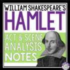 Hamlet Act and Scene Notes