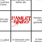 Hamlet Bingo Reading Guide