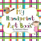 Hand Print Art Book