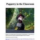 Hand Puppet Resources