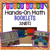 Hands-On Math Booklet 3.NBT.1 {Place Value & Rounding} FREE