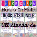 Hands-On Math Booklets Bundle {All 3rd Grade Common Core S