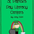 Hands-On St. Patrick's Day Literacy Centers {Includes 6 Ac