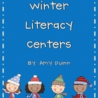 Hands-On Winter Literacy Centers {12 Activities}