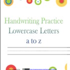 Handwriting Combo pack -- Upper and Lowercase Journals.