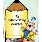 Handwriting Journal!