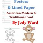 Handwriting Posters American Modern & Traditional Font