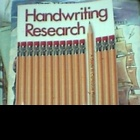 Handwriting Research, A Guide to Curriculum Planning by Za