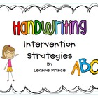 Handwriting Strategies!