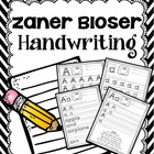 Handy Handwriting Practice - Zaner Bloser