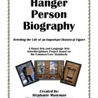 Hanger Person Biography Project