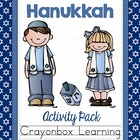 Hanukkah Activity Pack - Math & Language