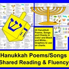 Hanukkah Poems / Songs / and Chants-Shared Reading & Fluency