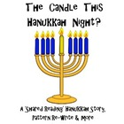 Hanukkah Shared Reading Pack; &#039;Who Lit The Candle This Han